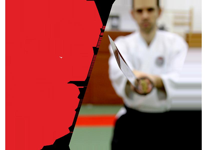ASR Combatives - Școala Armelor (Buki Ryu) - curs de sabie (katana), baston, cuțit, tehnici cu arme, autoapărare contra armelor, eficiență, knife combat