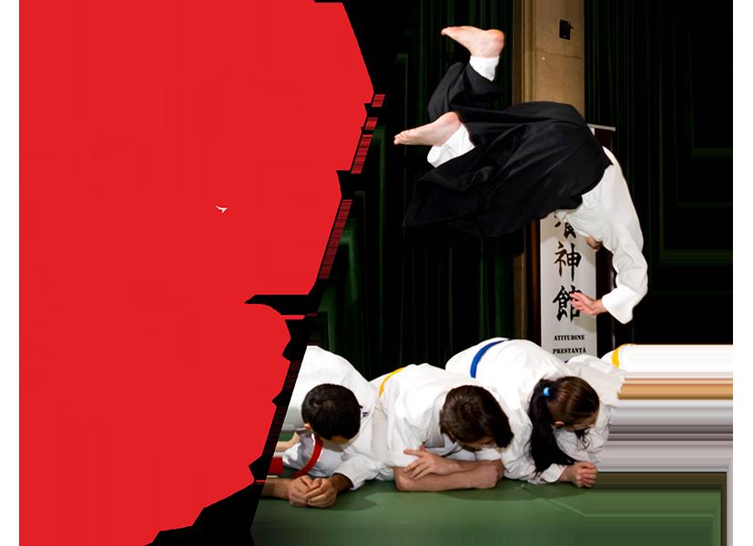 ASR Acrobatics - Școala Căderilor (începători, intermediari și avansați) - curs de căderi și acrobatică pentru Aikido, Judo, Karate, Parkour, Free running